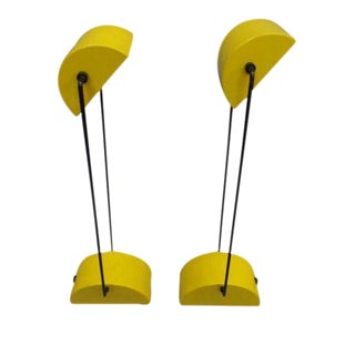 Pair of Italian Design Desk Lamps by Bilumen