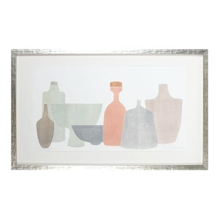 """""""Chromatic Vessels Vi"""" Abstracted Still Life For Sale"""