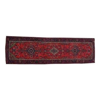 Antique Persian Hamadan Runner - 3′7″ × 14′2″