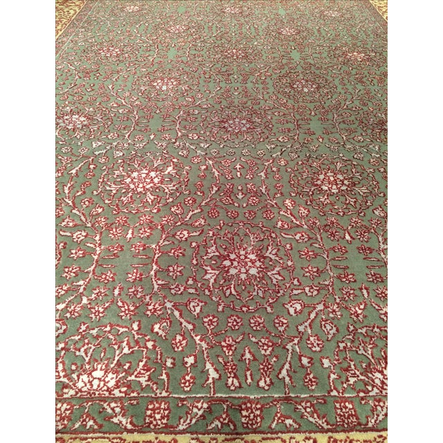 "Pasargad Hand-Knotted Tabriz Rug - 5'8"" X 8' - Image 2 of 4"
