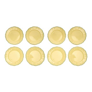 Moda Domus x Chairish Exclusive Colorblock Dinner Plates- Set of 8 For Sale
