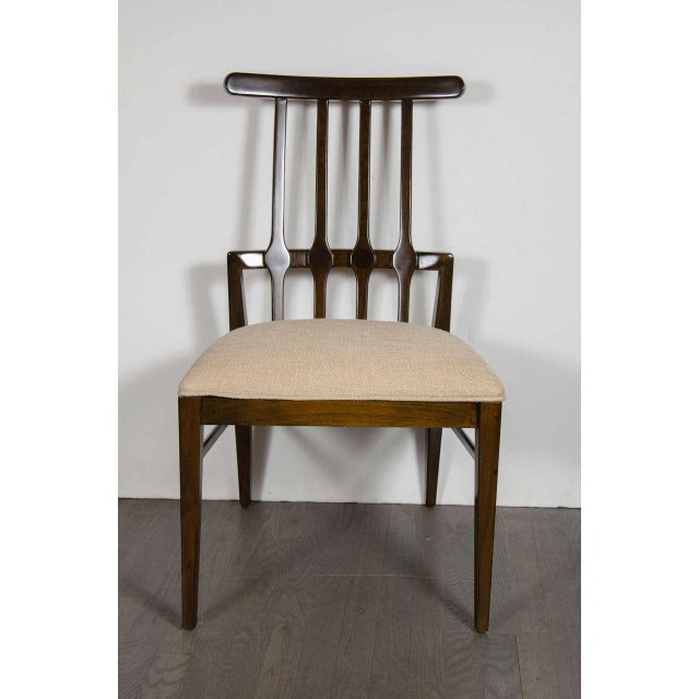Danish Modern Mid-Century Modernist Dining Chair by Danish Designer Niels Koefoed For Sale - Image 3 of 7