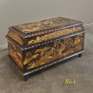 Antique Indian Inlaid Trunk Preview