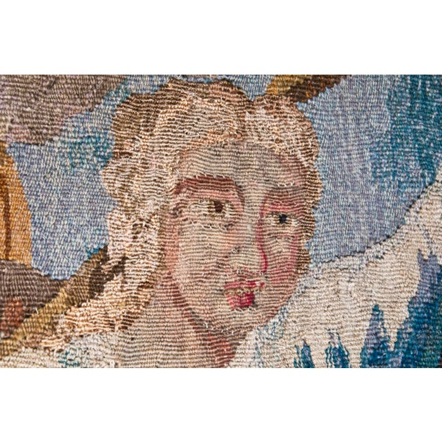 Canvas Flemish Tapestry of Caesar returning to Rome For Sale - Image 7 of 9