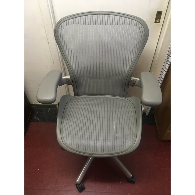 herman miller aeron chair size b for sale in san francisco image 6 of - Aeron Chair Sizes