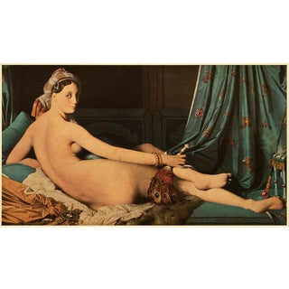 "1951 Ingres ""Great Odalisque"", First Edition Parisian Photogravure For Sale"