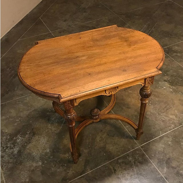 19th Century French Neoclassical End Table Ca. 1880 For Sale - Image 11 of 12