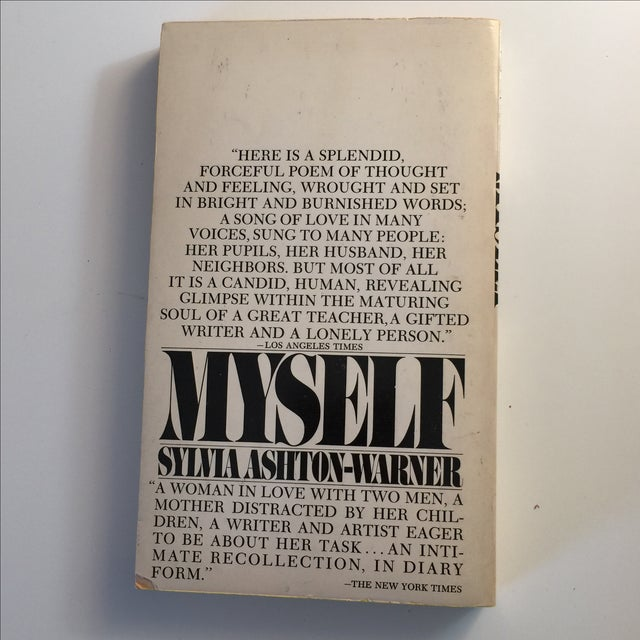 Contemporary Myself by Sylvia Ashton Warner 1968 For Sale - Image 3 of 5