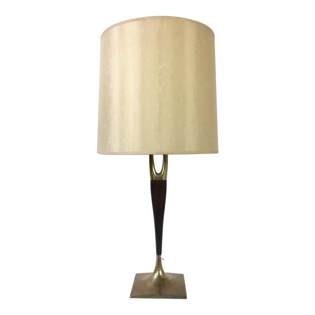 Gerald Thurston Mid-Century Wishbone Table Lamp for Laurel Lamp Co. For Sale