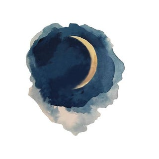 Moon Series- Waxing Crescent For Sale