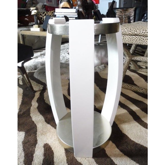 Vintage Sally Sirkin Lewis for J. Robert Scott Harlow Side Table For Sale In Miami - Image 6 of 10