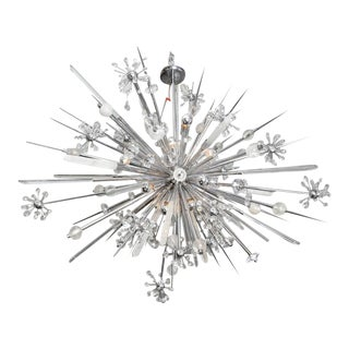 Glamorous Custom Rock Crystal Sputnik For Sale