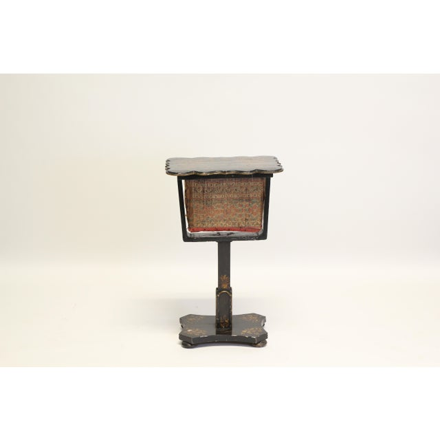 Paper Victorian Sewing Box For Sale - Image 7 of 7