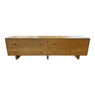 Modern Desiron Chelsea Cross Natural Oak Dresser For Sale