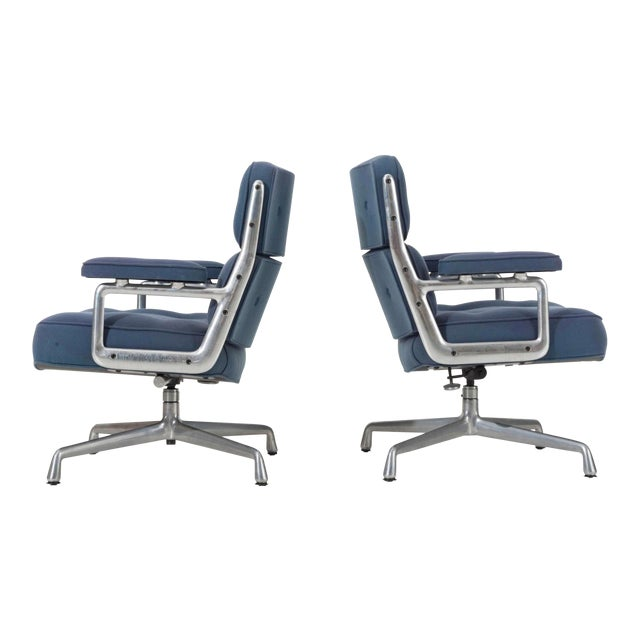 Time Life Lounge Chairs by Charles Eames for Herman Miller For Sale