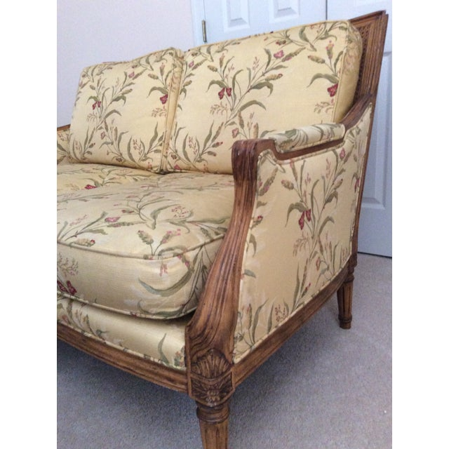 French Century Furniture French Settee For Sale - Image 3 of 9