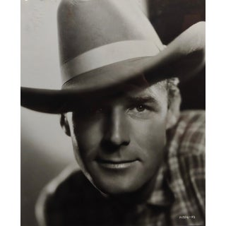 1940s Hollywood Portrait of Randolph Scott Photograph by George Hurrell Preview