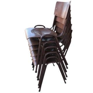 1950s Danish Stacking Chairs - Set of 6