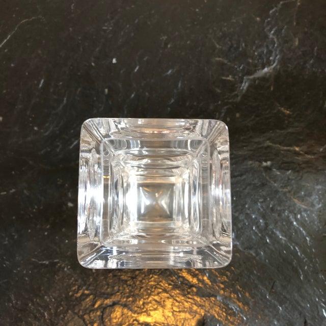 1960s Crystal Vase by Bengt Edenfalk For Sale - Image 5 of 10