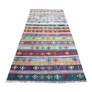 Anatolian Turkish Sivas Nomads Kilim Rug For Sale