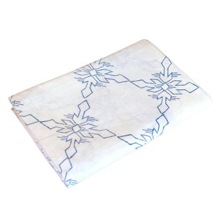 Daisy White Citlalee Aztec Print Throw For Sale