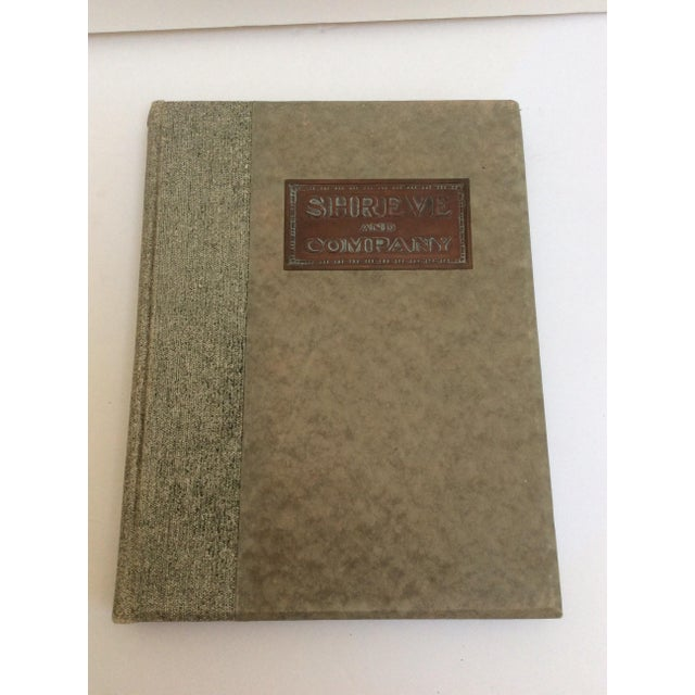 Authentic antique rare Shreve and company catalog book for serious San Francisco shopping back in 1915. This book features...