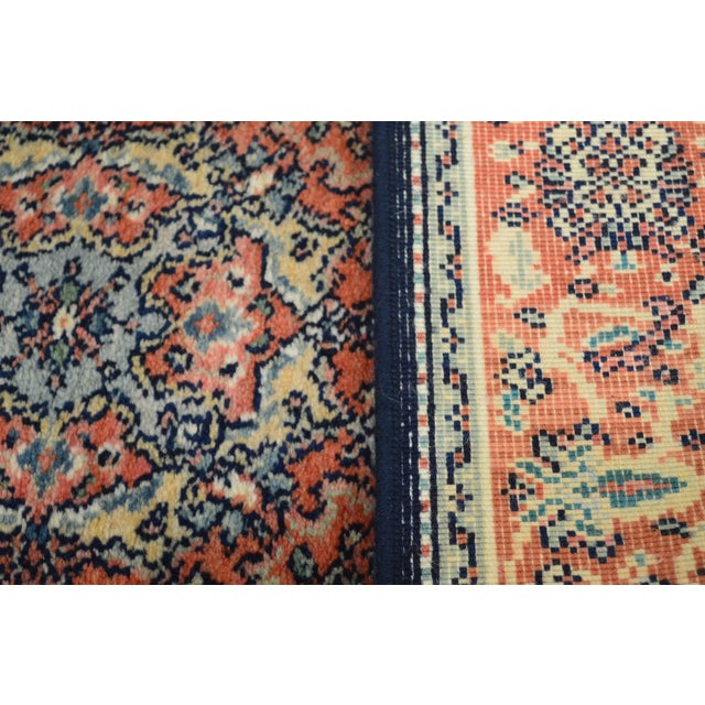 "Karastan Kashan Medallion 2'10"" X 5' Throw Rug #741 (A) For Sale - Image 11 of 13"