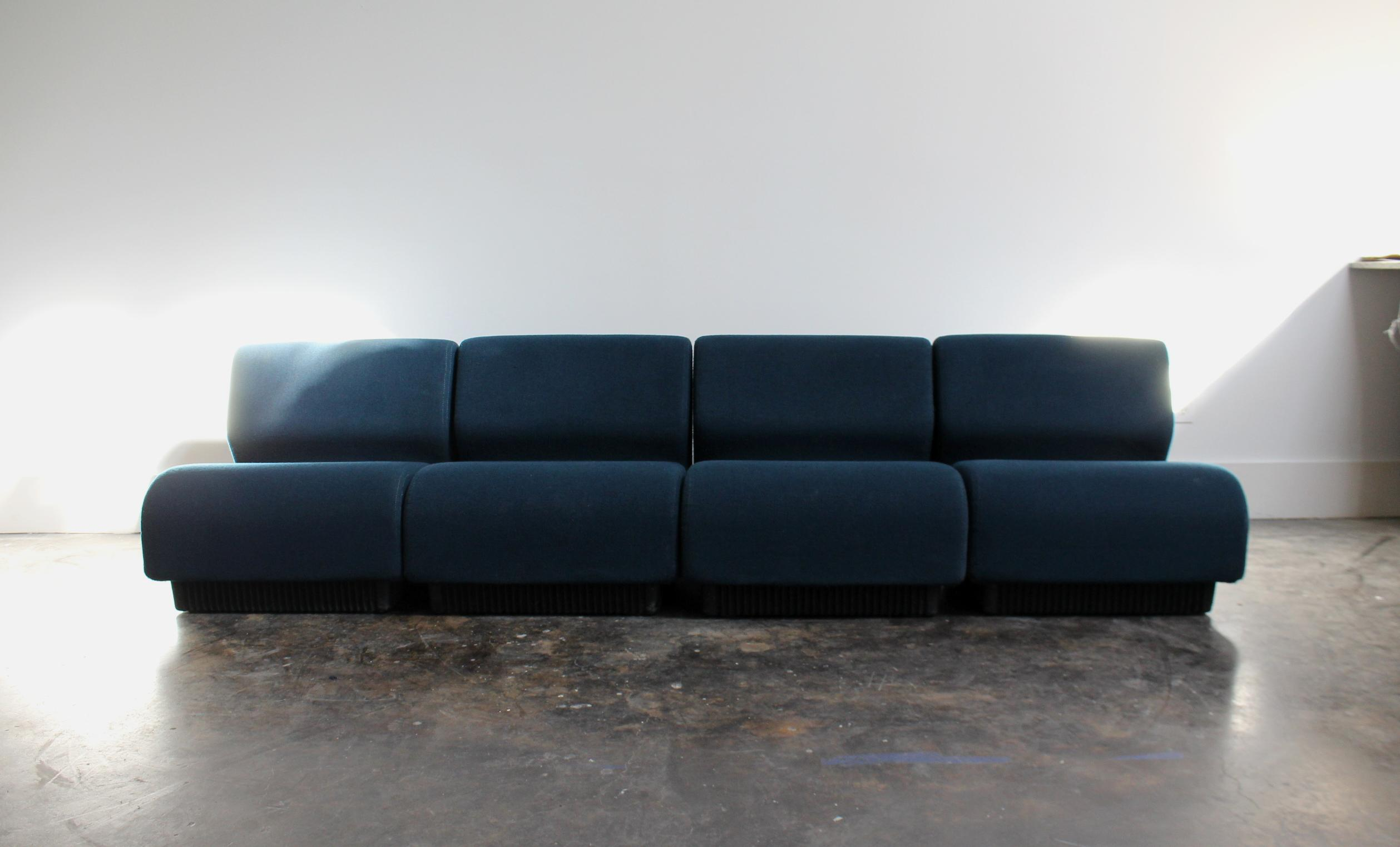 Lovely Vintage Modern Modular Sofa By Don Chadwick For Herman Miller   Image 2 Of  11