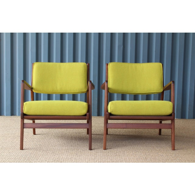 Jens Risom Armchairs, U.S.A, 1960s - a Pair For Sale - Image 10 of 10
