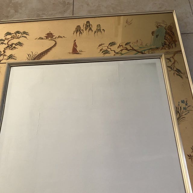 Chinoiserie La Barge Mirror For Sale - Image 4 of 8