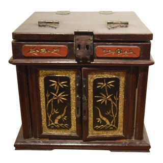 Vintage Chinese Jewelry Box For Sale