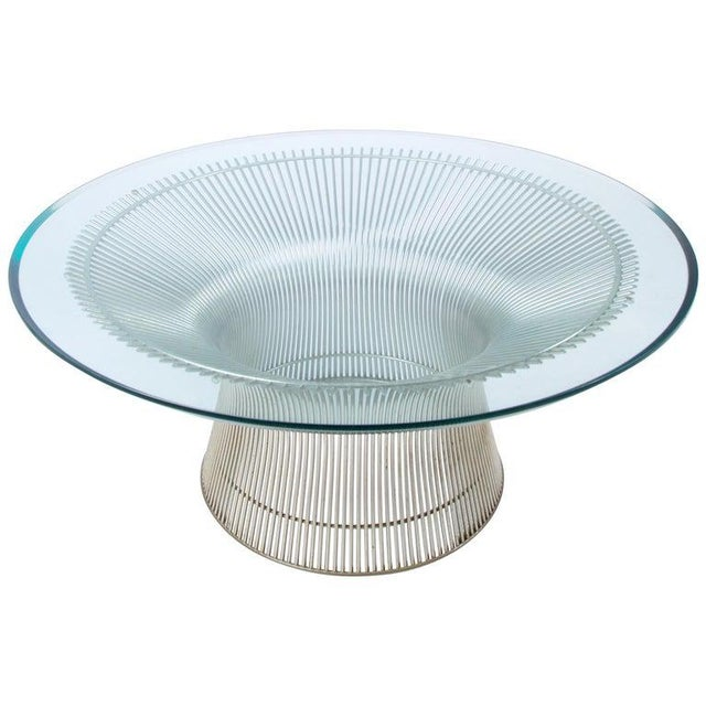 1960s Mid-Century Modern Warren Platner for Knoll Coffee Table For Sale - Image 9 of 9