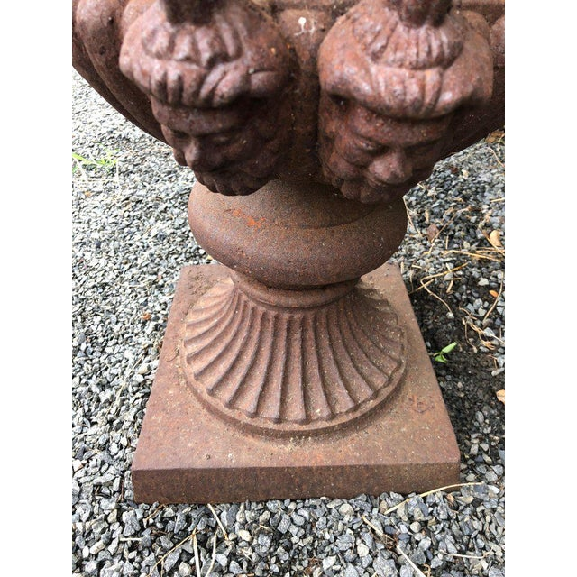 19th Century Neoclassical Ornate English Garden Jardinaires - a Pair For Sale - Image 4 of 8