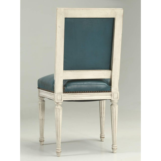 French Louis XVI Style Dining Chairs - Set of 6 For Sale - Image 9 of 12
