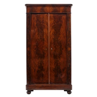 French Restoration Antique Armoire For Sale