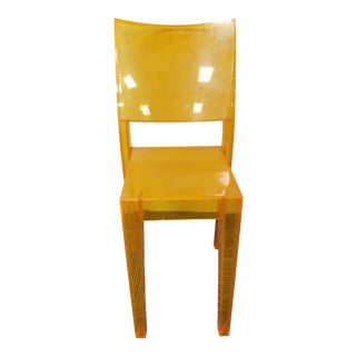 "1990s Kartell ""La Marie"" Orange Side Chair For Sale"