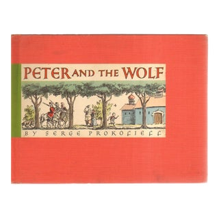 "1940 ""Peter and the Wolf"" Coffee Table Book For Sale"