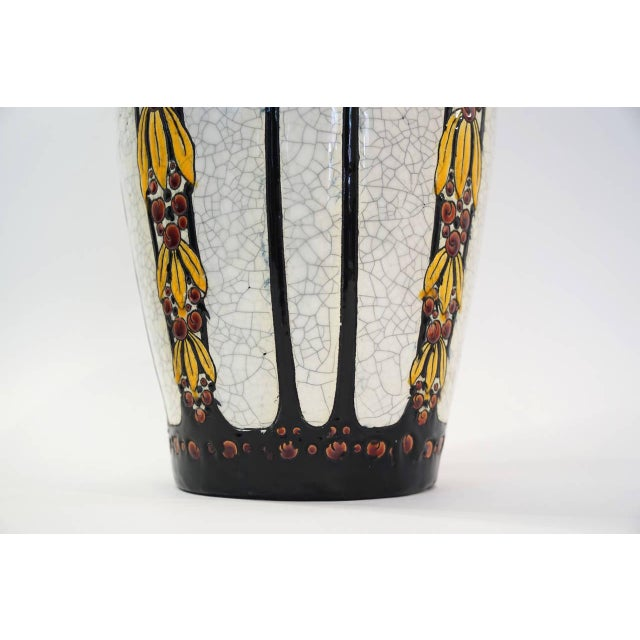 Tall Charles Catteau Vase - Image 2 of 5