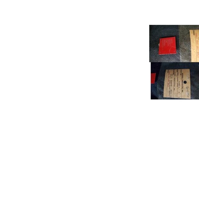 Ward Bennett Classic Black Office Desk Chair for Brickel Associates For Sale - Image 12 of 13