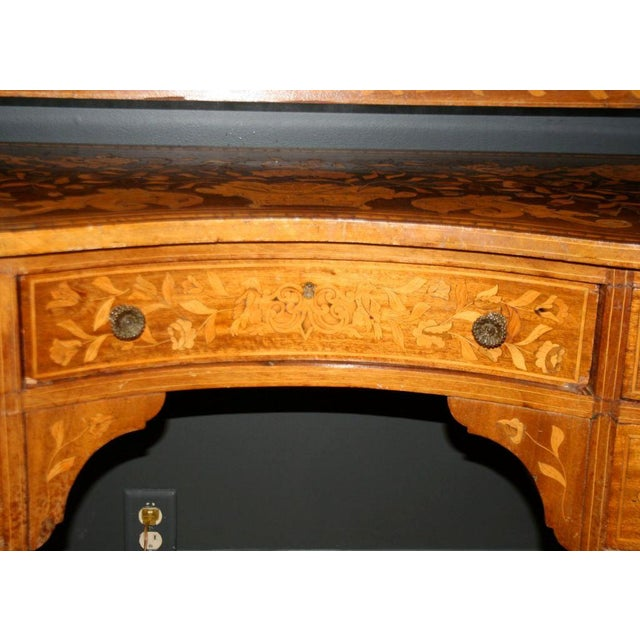 Late 19th Century Dutch Marquetry Dressing Table For Sale - Image 9 of 11