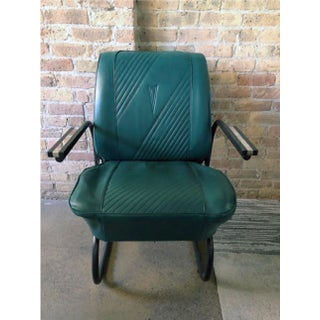 1964 Emerald Green Pontiac Gto Refurbished Leather Roadster Chair Preview
