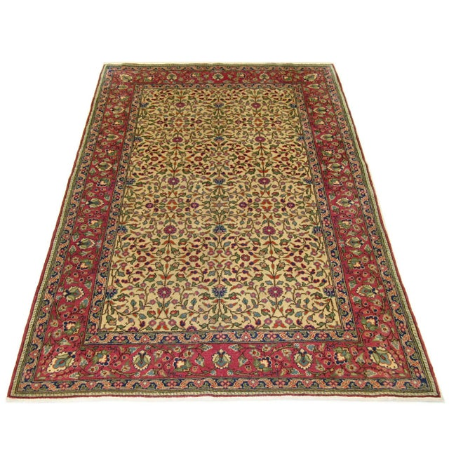 "Vintage Turkish Kayseri Carpet - 3'11"" x 5'9"" - Image 4 of 4"