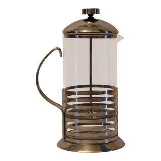 Art Deco-Inspired Coffee Press