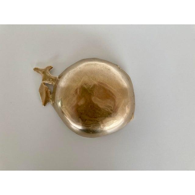 Brass Leaf Bowl For Sale - Image 4 of 5