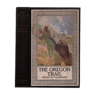 "1930 ""The Oregon Trail, Illustrated by N. C. Wyeth"" Collectible Book For Sale"