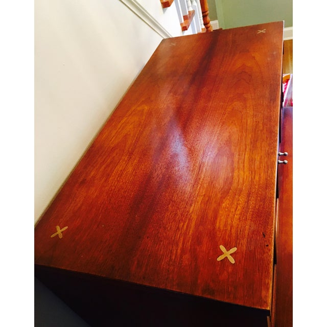 American of Martinsville Highboy Dresser - Image 5 of 6