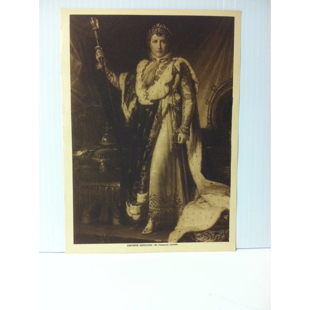 """This is an Antique The Mentor Association Print on Paper that is titled """"Emperor Napoleon"""". The Print was Published by The..."""