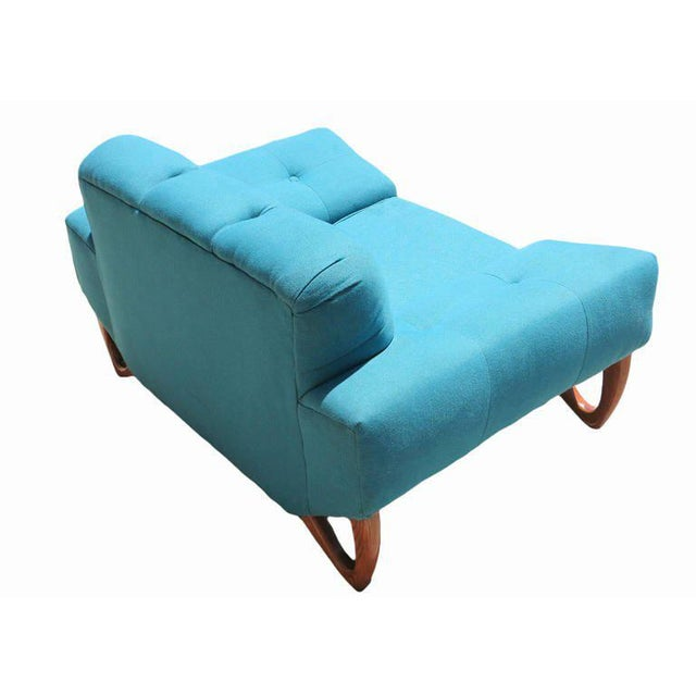 Mid-Century Modern Lounge Chair in the Manner of Adrian Pearsall For Sale In Los Angeles - Image 6 of 6