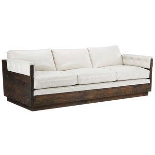 Mid Century - Custom Solid Wood Frame Sofa