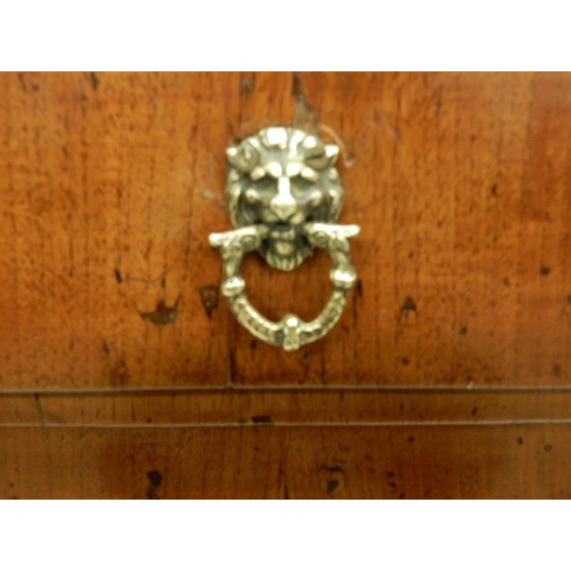Early 19th Century Early 19th Century Small Italian Walnut Commde For Sale - Image 5 of 11